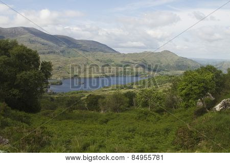 High angle view of Killarney National Park, Killarney, County Kerry, Republic of Ireland