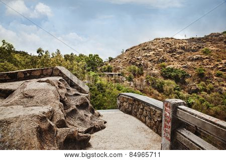 Clouds over Honeymoon Point, Mount Abu, Sirohi District, Rajasthan, India