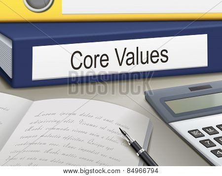 Core Values Binders