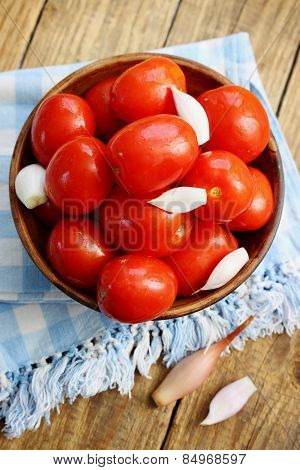 Leavened Tomatoes And Onions