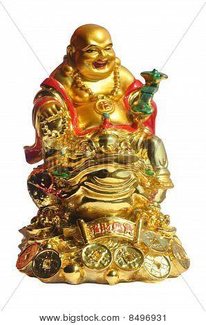 Cheerful Golden Hotei