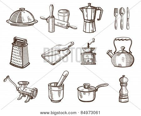 Cookware and kitchen utensils