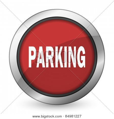 parking red icon