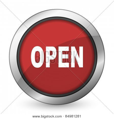 open red icon