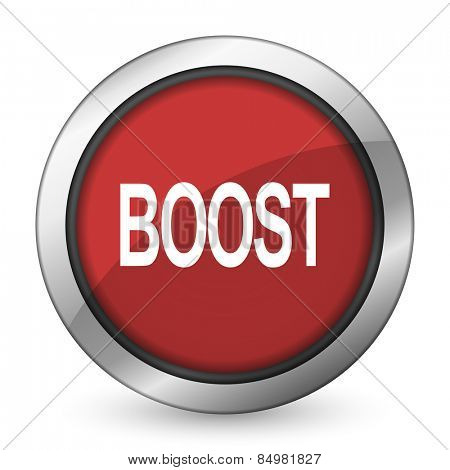 boost red icon