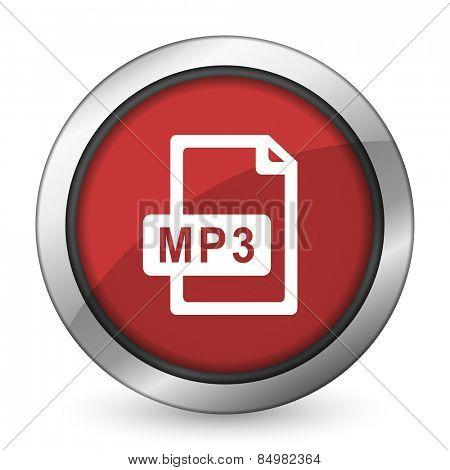 mp3 file red icon