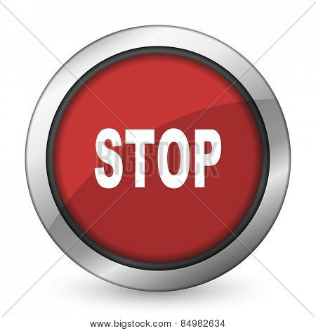 stop red icon