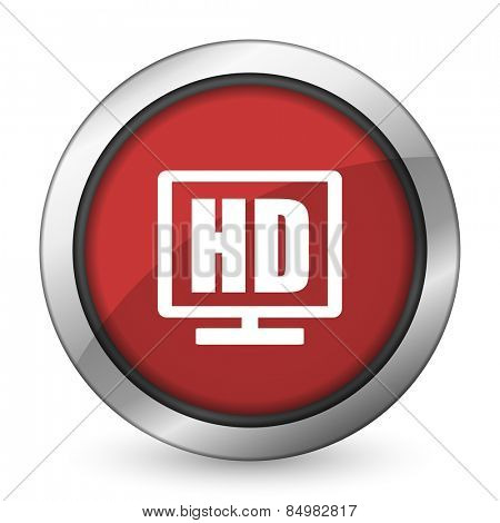 hd display red icon