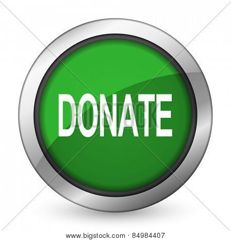 donate green icon