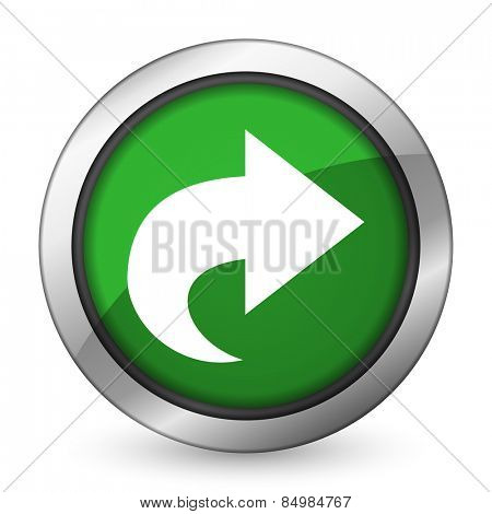 next green icon arrow sign