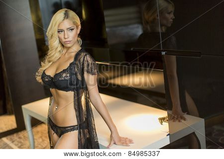 Young Blond Woman