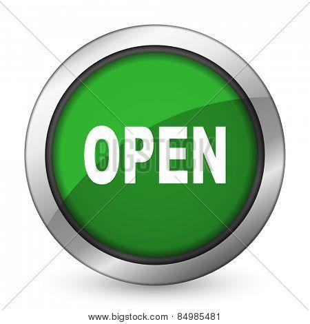 open green icon