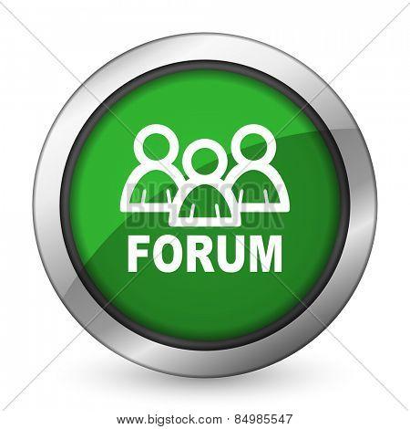 forum green icon