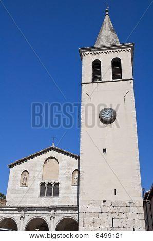 St. Gregorio Maggiore Church. Spoleto. Umbria.