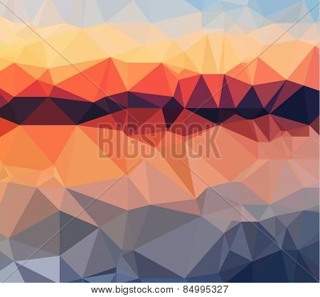 Low Poly geometric abstract backgroud for brochure layout, flyer template, page covers, wallpapers, hipster related stuff and so on .