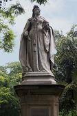 image of karnataka  - Statue of Queen Victoria in Cubbon Park - JPG