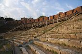 image of messina  - Ruins of an ancient Greek theatre - JPG