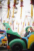 stock photo of merry-go-round  - Close - JPG