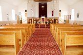 pic of pews  - Small Community Church - JPG