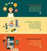 image of payment methods  - Advantageous to make a purchase - JPG