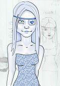 Eye Patch Girl