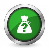 foto of riddles  - riddle green icon   - JPG