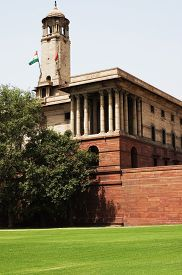 picture of rashtrapati  - Low angle view of a government building - JPG