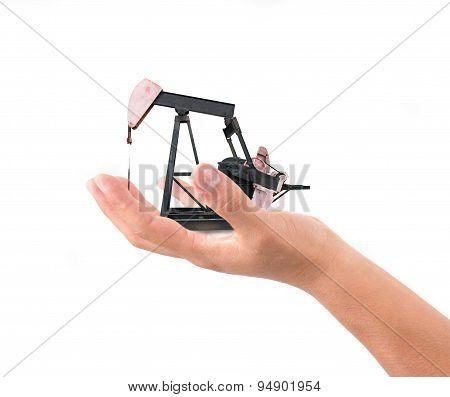 Hand Hold Pumpjack