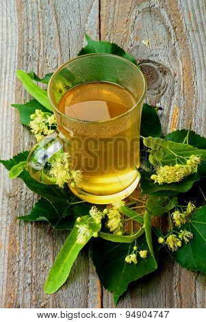 Tea Of Linden-tree Flowers