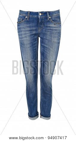 Pants For Women Isolated On White With Clipping Path