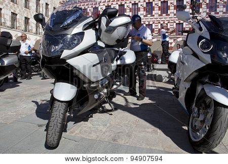 Meeting Of Motorbikes Owners Of Bmw K 1600