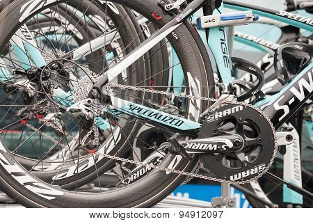 Omega Pharma Quick-step Bikes