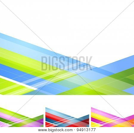 Abstract geometric minimal background. Vector