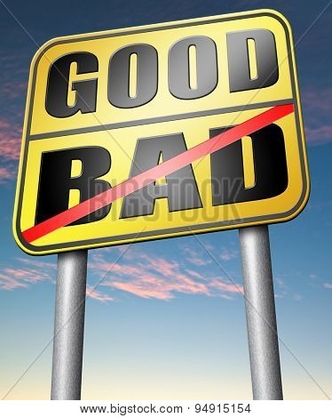 good bad a moral dilemma about values right or wrong evil or honest ethics legal or illegal