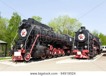 Rail Road Locomotive