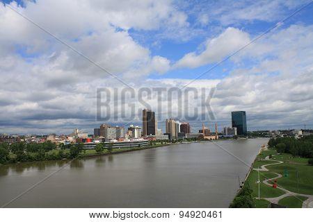 Toledo in the Distance