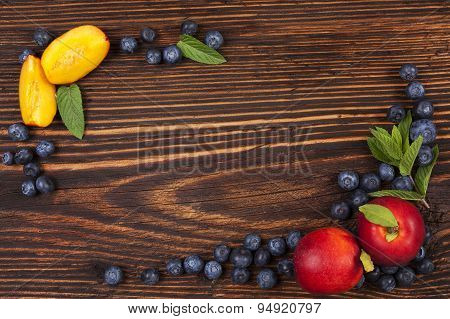 Fresh Fruit Background.