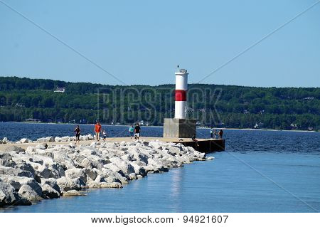 Petoskey Pierhead Lighthouse