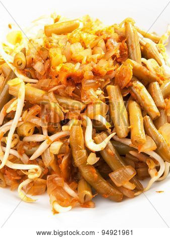 Indonesian Cuisine - Beans With Soya Sauce