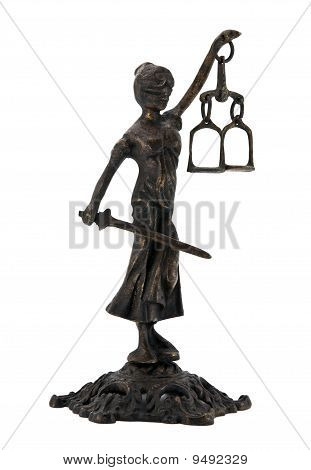Themis with clipping path