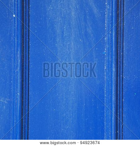 Blue Abstract Metal In England London Railing Steel And Background
