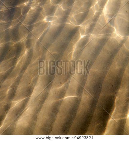 Sand And The  Abstract Thailand Kho Tao Bay  China Sea