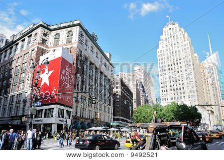 Herald Square In New York City