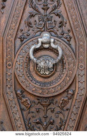 Silver knocker