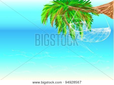 Hawaii Beach And Hammock