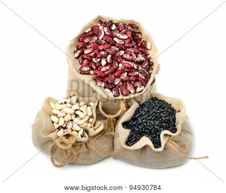 Kidney Beans In The Sacks