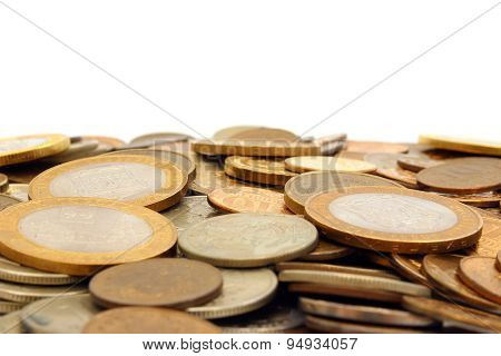 Hill Of Russian Coins