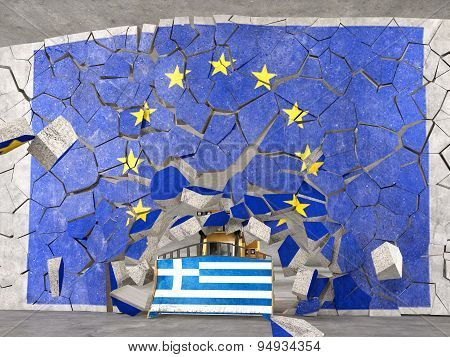 Greece coming out from EU