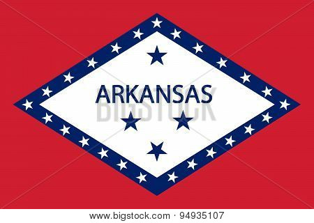 Arkansas Flag.