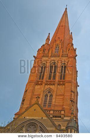 Church Steeple Reaches for Heaven